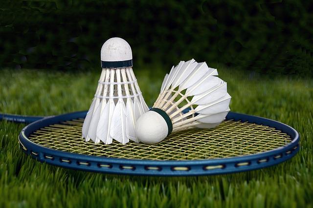 potřeby na badminton