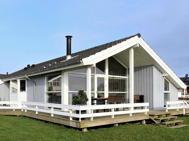 skandinávská chata